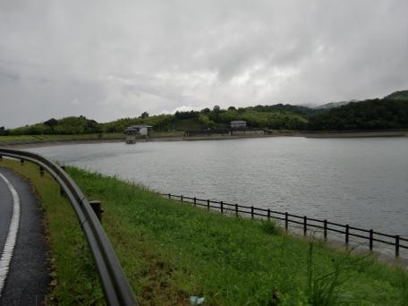 白川ため池の写真