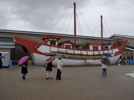 遣唐使船の写真