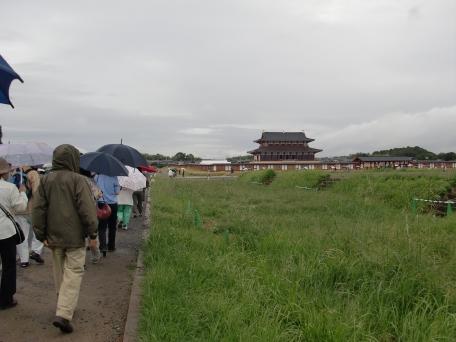 大極殿への遊歩道の写真