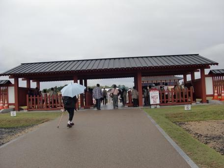 大極殿入り口の写真